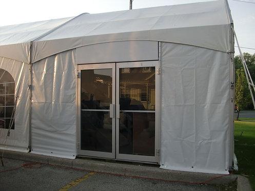 Anodized Tent Door