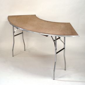 4' Serpentine - Plywood Top
