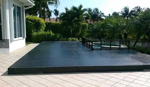 Wood Pool Cover - per square foot