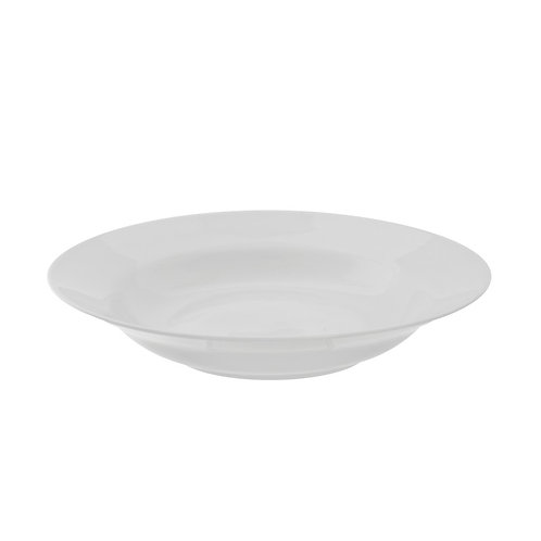 White China Soup Bowl