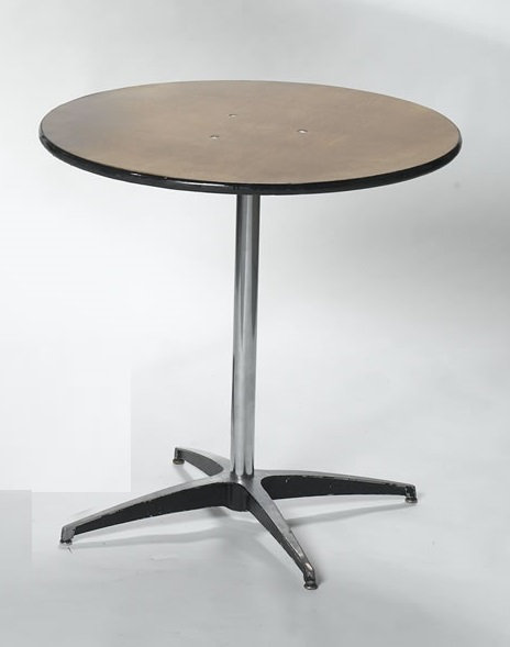"36"" Round x 30"" High Cocktail Table"