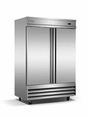 Double Door Reach-In Freezer 46.5 Cu. ft