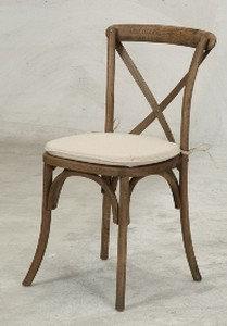 Antique X-Back Chair
