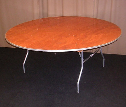 """72"""" Round Table - Seats 10"""