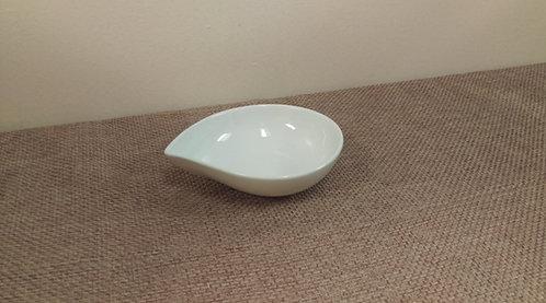 White Teardrop Bowl 5 oz.
