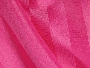 Satin Stripe - Raspberry