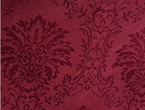 Damask Wellington - Burgundy