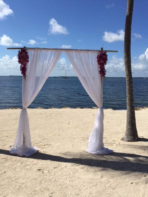 Bamboo Bridal Arch