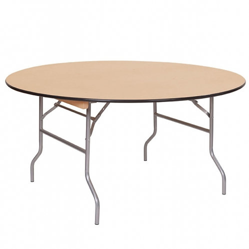 "60"" Round Table - Seats 8-10"
