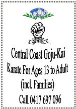 1. CCGK For Age 13 to Adult incl Familie