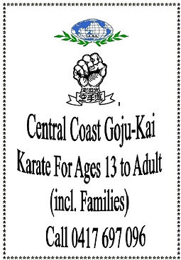Central Coast Karate (Goju-Kai)