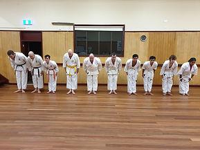 Kincumber Dojo Lineup.jpg
