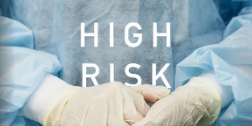 """""""High Risk"""" at Fort Tryon Jewish Center"""