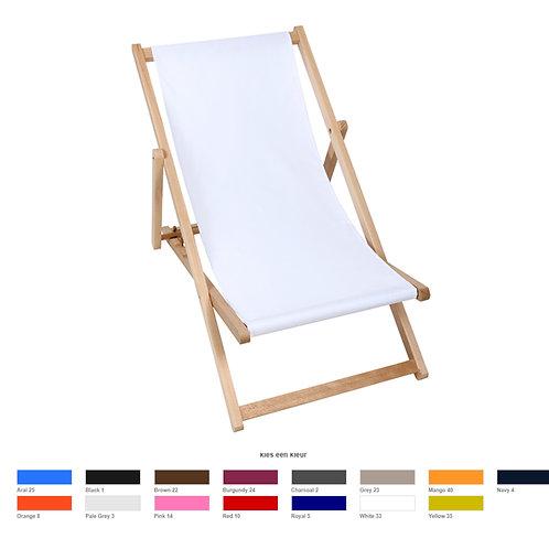 strandstoel met/zonder bedrukking