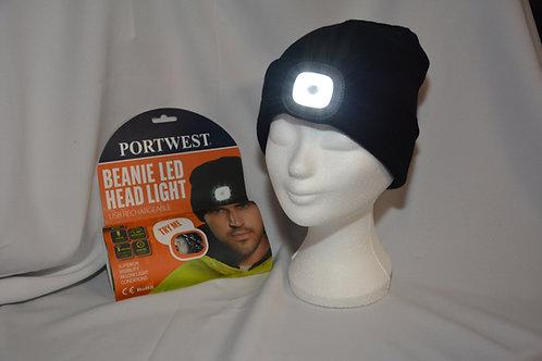 Muts met LED licht USB oplaadbaar
