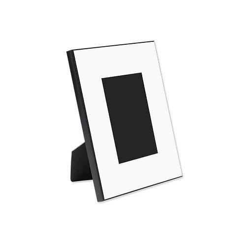 houten fotolijst 20x25cm ( rand bedrukt)
