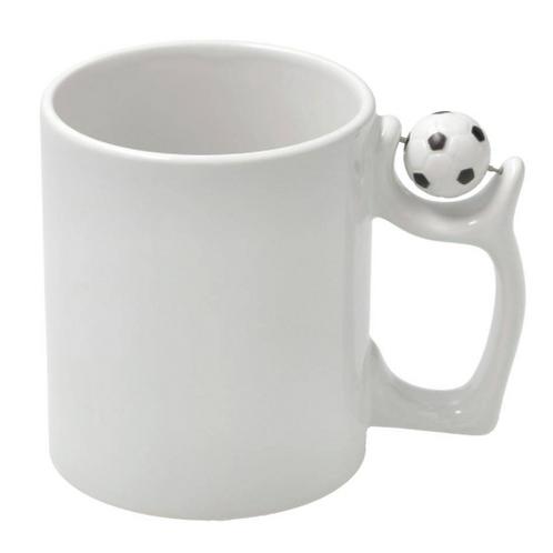 koffiemok met bal bedrukt
