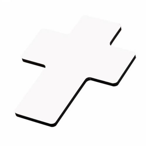 houten kruisje bedrukt