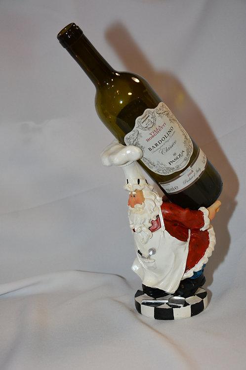 stenen Flessen houder als Kerstkok