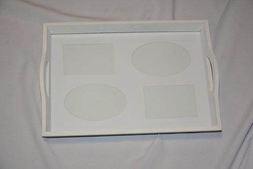 dienblad voor 1 foto van 36cm x 26cm of 4 in paspartout