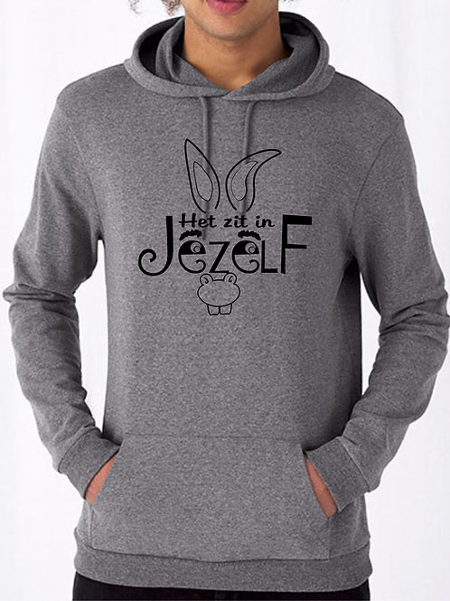 "Hooded sweater B&c ( zonder label) BCWU03W ""ezel"""