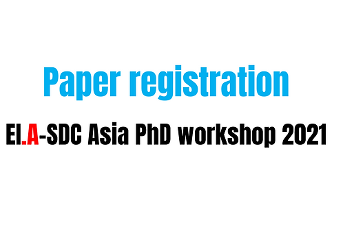 Registration fee for EI.A-SDC PhD workshop