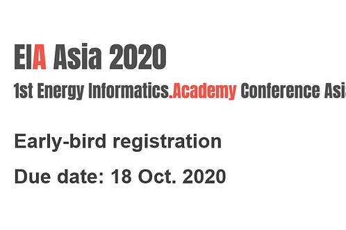 Poster paper- early bird registration