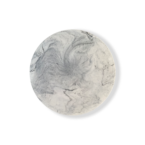 Trinket Tray in White Marble