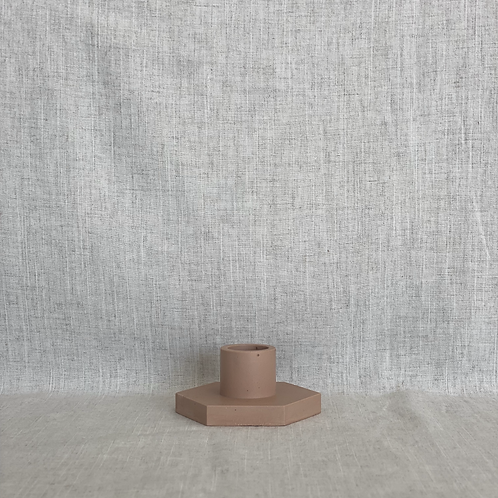 Candle Holder in Blush