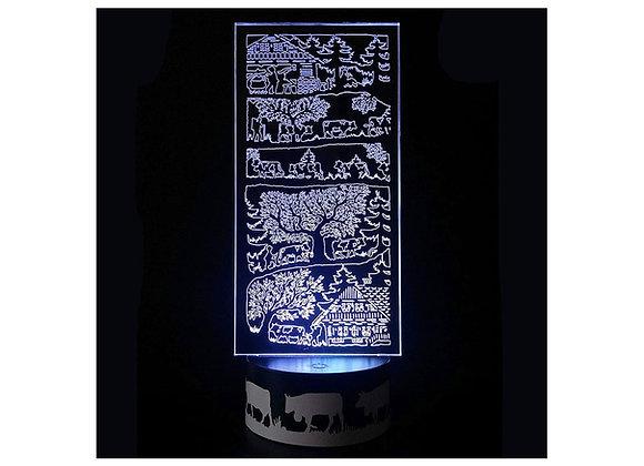 """Lampe LED """"La maison du fromager"""""""