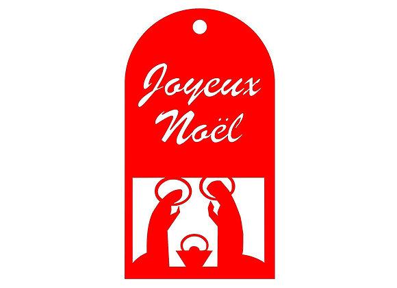 Pendentif de Noël JMJ