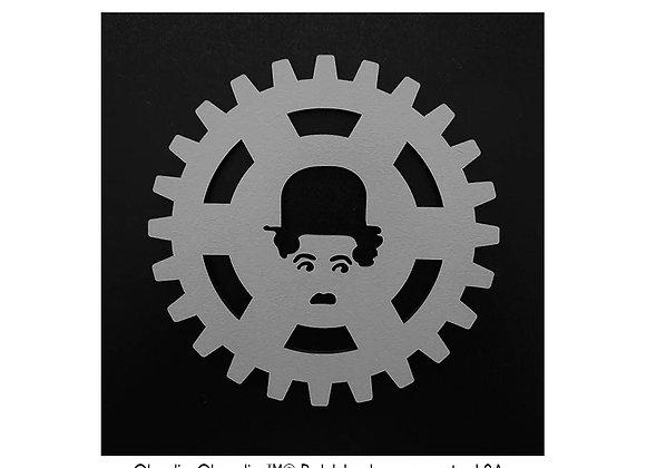 """Set de 6 sous-verres Charlie Chaplin """"Les temps modernes"""""""