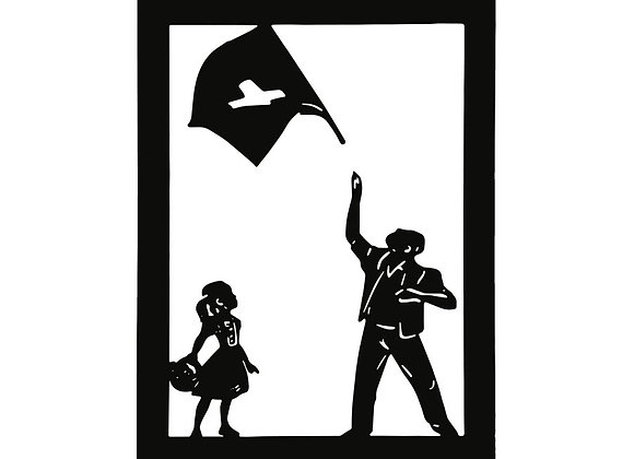 Lanceur de drapeau 15