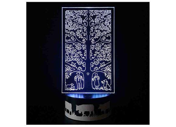 """Lampe LED """"Arbre de Vie"""""""