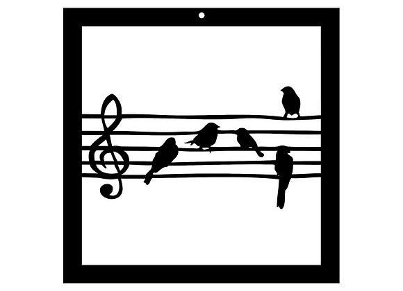 Portée d'oiseaux