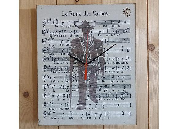 """Horloge """"Le Ranz des vaches"""""""