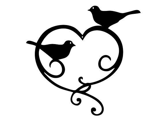 Coeur oiseaux
