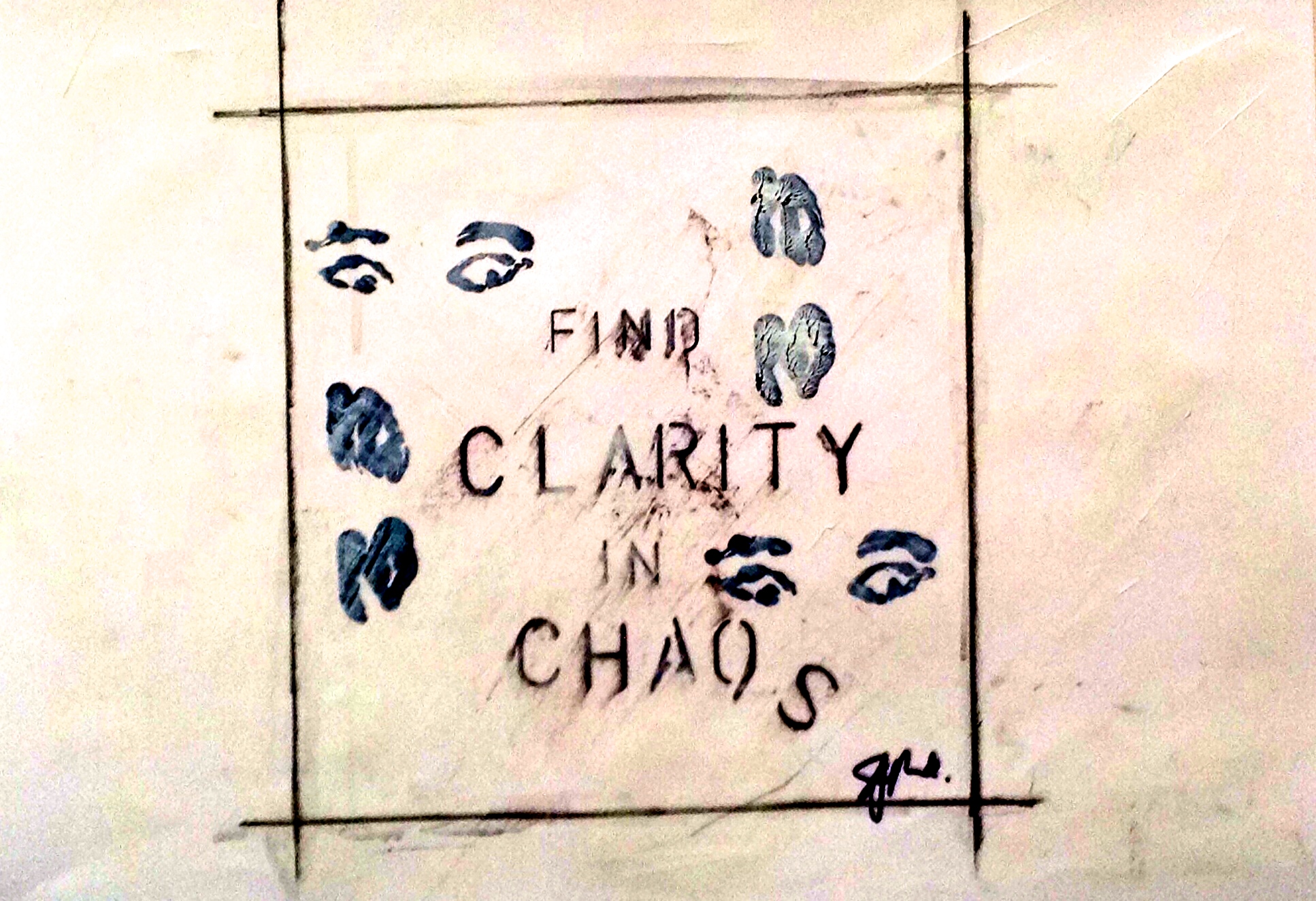 clarity in chaos