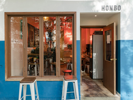 A Real Good Burger at Honbo