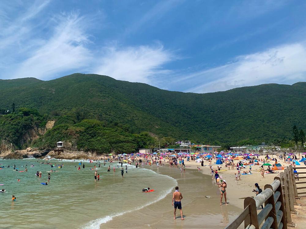 Big Wave Bay Beach