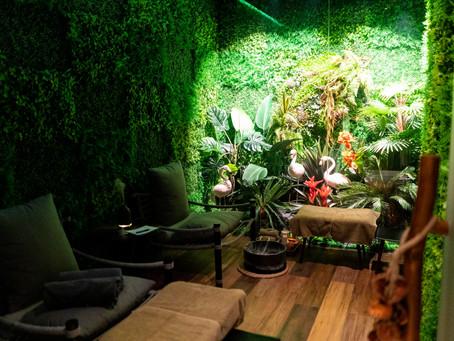 Rainforest Oxygen Rooms at K11 Musea's THANN Wellness Zone