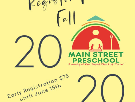 Early Registration Extended