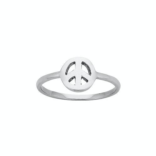 Karen Walker Mini Peace Ring Silver -  kw143rstg