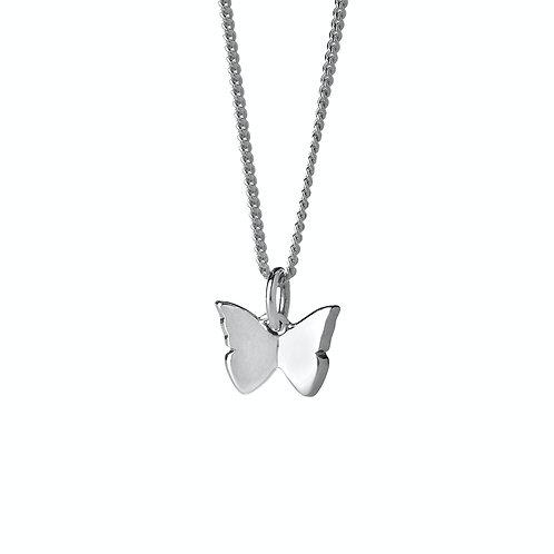 Karen Walker Mini-Butterfly Necklace Silver - kw366pnstg