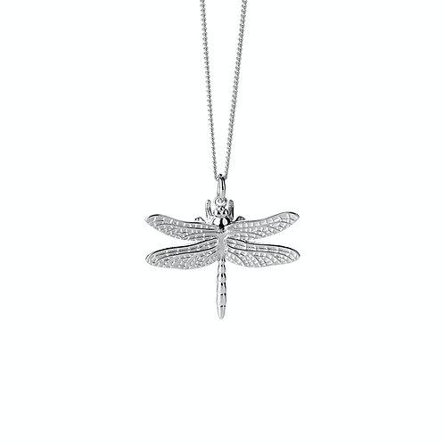 Karen Walker Dragonfly Necklace Silver - kw357pnstg