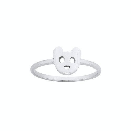 Karen Walker Mini Bear Ring Silver kw172rstg