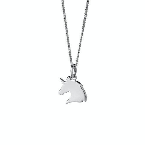 Karen Walker Mini Unicorn Necklace Silver Pendent kw367pnstg