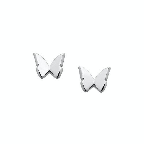 Karen Walker Mini Butterfly Studs Silver kw366erstg