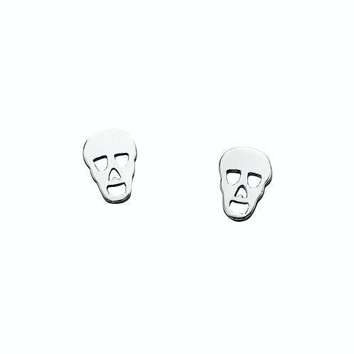 Karen Walker Mini Skull Studs Silver - kw146erstg