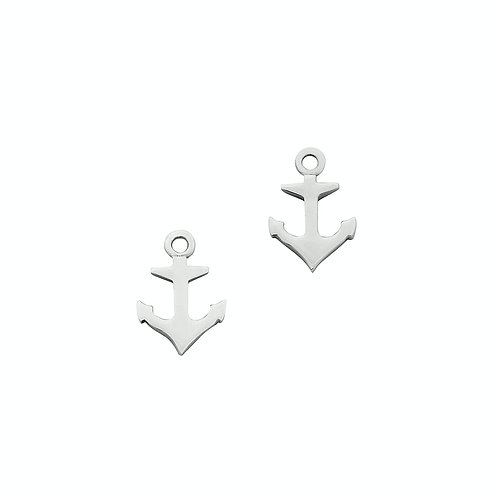 Karen Walker Mini Anchor Studs Silver kw148erstg